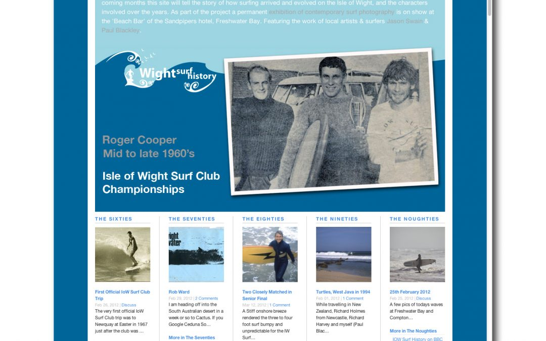 Wight Surf History